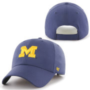 '47 Brand University of Michigan Navy ''Repetition'' Performance Clean-Up Running Hat