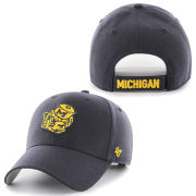 '47 Brand University of Michigan Navy College Vault Wolverine MVP Closer Hat