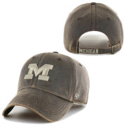 '47 Brand University of Michigan Brown Oilcloth Cleanup Hat