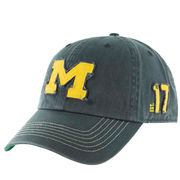 '47 Brand University of Michigan Navy Scituate Block M Est 1817 Slouch