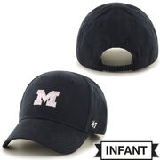 '47 Brand University of Michigan Infant Navy Pink M MVP Hat