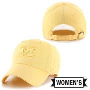 '47 Brand University of Michigan Women's Maize Tonal Clean-Up Hat