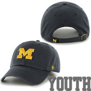 '47 Brand University of Michigan Youth Navy Clean Up Hat