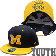 '47 Brand University of Michigan Youth Oath Vault Snapback Hat