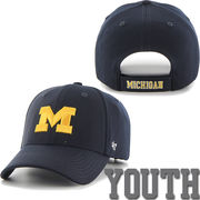 '47 Brand University of Michigan Youth Navy Juke Performance Hat