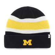 '47 Brand University of Michigan Navy ''Goal Line'' Cuffed Knit Hat