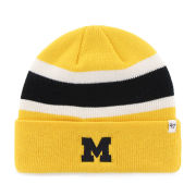 '47 Brand University of Michigan Yellow ''Goal Line'' Cuffed Knit Hat