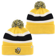 '47 Brand University of Michigan Yellow Vault Wolverine Cuffed Pom Knit Hat