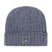 '47 Brand University of Michigan Heather Navy Dockside Cuffed Knit Hat