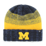 '47 Brand University of Michigan Navy ''Annex'' Cuffed Knit Hat