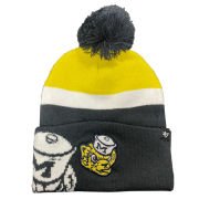 '47 Brand University of Michigan Mokema Double College Vault Cuffed Knit Hat