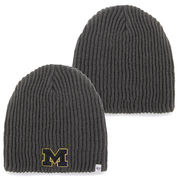 '47 Brand University of Michigan Gray Caribou Lightweight Knit Beanie Hat