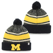 '47 Brand University of Michigan Fairfax Cuffed Knit Pom Hat
