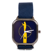 Modify Watches Bo Schembechler Brand Gun Metal Watch