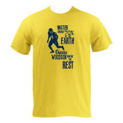 UGP Charles Woodson Yellow ''Coverage''  Tee