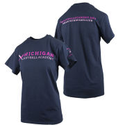 University of Michigan Softball Navy Academy Tee