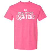 UGP University of Michigan Pink ''Hail To The Fighters'' Breast Cancer Awareness Tee