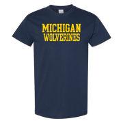 University of Michigan Wolverines Navy Tee