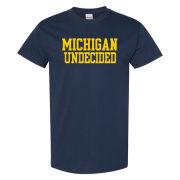 University of Michigan Undecided Major Navy Tee