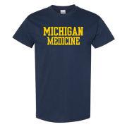 University of Michigan Medicine Navy Tee