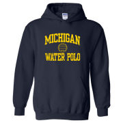 University of Michigan Water Polo Navy Hooded Sweatshirt