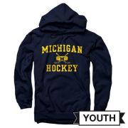 University of Michigan Hockey Navy Sport Hooded Sweatshirt
