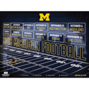 University of Michigan Football 2018 Schedule Poster [3 Posters]