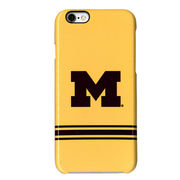UnCommon University of Michigan Yellow Stripe Apple iPhone 6 Case