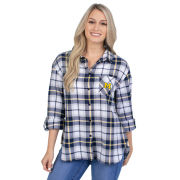 UG Apparel University of Michigan Women's Perfect Plaid Shirt