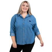 UG Apparel University of Michigan Women's Perfect Denim Shirt