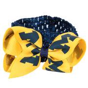 Sports Bows University of Michigan Crochet Headband and Bow