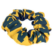 Sports Bows University of Michigan Two-Color Scrunchie Ponytail Holder
