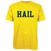 Valiant University of Michigan Yellow ''HAIL'' Tee