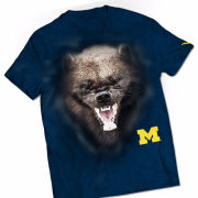 Valiant University of Michigan Navy Wolverine Tee