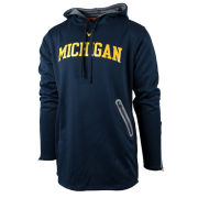 Valiant x Elbowgrease University of Michigan Navy ''Turbo'' Reflective Performance Hooded Sweatshirt