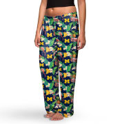 Valiant University of Michigan Floral Print Sleep Pant
