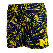 Valiant University of Michigan Hawaiian Bathing Suit