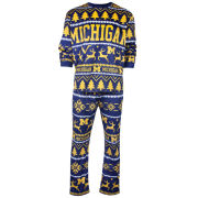 Valiant University of Michigan Holiday Pajama Two-Piece Set