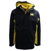 Valiant University of Michigan Navy/Yellow 3-in-1 Interchange Jacket