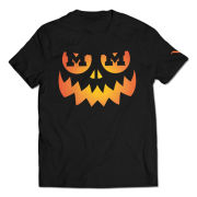 Valiant University of Michigan Black Jack-O'-Lantern Tee