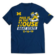 Valiant University of Michigan Football Paul Bunyan ''Beat State'' Tee