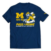 Valiant University of Michigan Football ''Paul Is Home'' Tee
