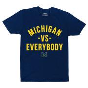 Valiant x Detroit Versus Everybody University of Michigan ''Michigan -vs- Everybody'' Student-Athlete NIL Tee
