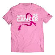 Valiant University of Michigan ''Tackle Cancer'' Pink BCA Tee