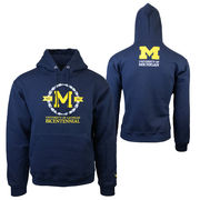 Valiant University of Michigan Bicentennial Navy Hooded Sweatshirt