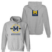 Valiant University of Michigan Bicentennial Gray Hooded Sweatshirt