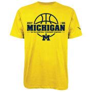 Valiant University of Michigan Yellow BIG 10 Champions Tee