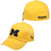 Valiant University of Michigan Yellow Flex Fit Hat