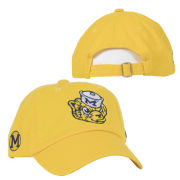 Valiant University of Michigan Yellow College Vault Wolverine Slouch Hat