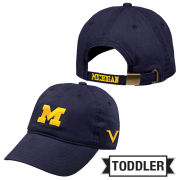 Valiant University of Michigan Toddler Navy Block ''M'' Slouch Hat